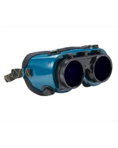 KFPG-S6BLUE Welding Safety Goggles, Flip-up, Shade 6