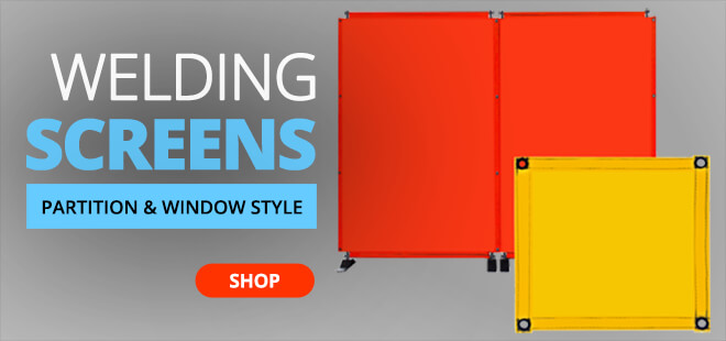 Protective Partition and Window Style Welding Screens